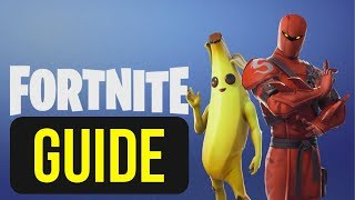 The Ultimate Guide for Beginners: Fortnite Battle Royale   How to play Fortnite   2019