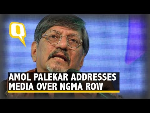 Veteran Actor Amol Palekar Addresses a Press Conference on NGMA Controversy