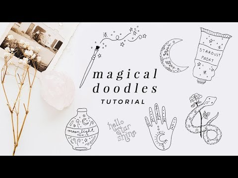 magical doodles tutorial