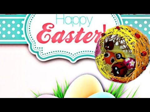 DIY - Easter Nest with eggs charm