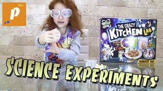 Проводим опыты для детей Science experiments