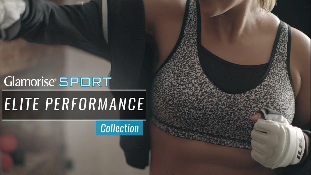 e24ab7001fc8b Glamorise Sport Elite Performance Collection - YouTube
