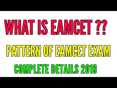 WHAT IS EAMCET