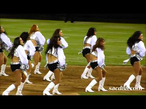 Raiderettes Halftime - Cowboys vs Raiders