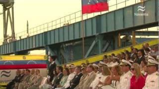 """NAVANTIA: Entrega del POV """"Warao"""" (Patrullero Oceánico). Armada de Venezuela"""
