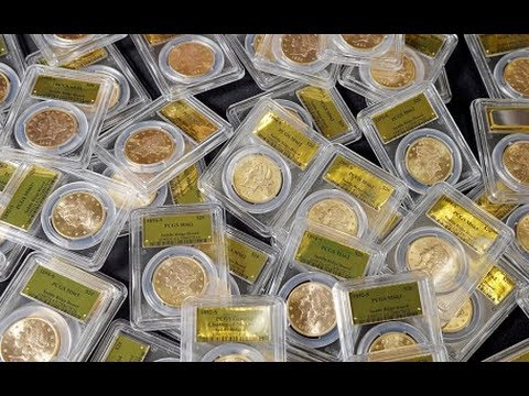 US couple stumble across gold coins worth $10m