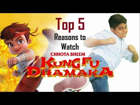 5 Reasons To Watch Chhota Bheem Kung Fu Dhamaka