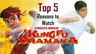 5 Reasons to Watch Chhota Bheem Kung Fu Dhamaka