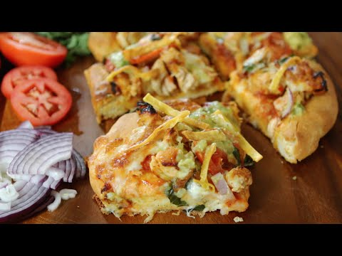Sweet Chile Chicken Pizza Recipe | Wholly Guacamole