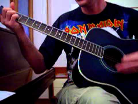PRODIGAL SON .Iron Maiden acoustic cover