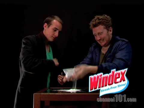 Windex Commercials - April Screening