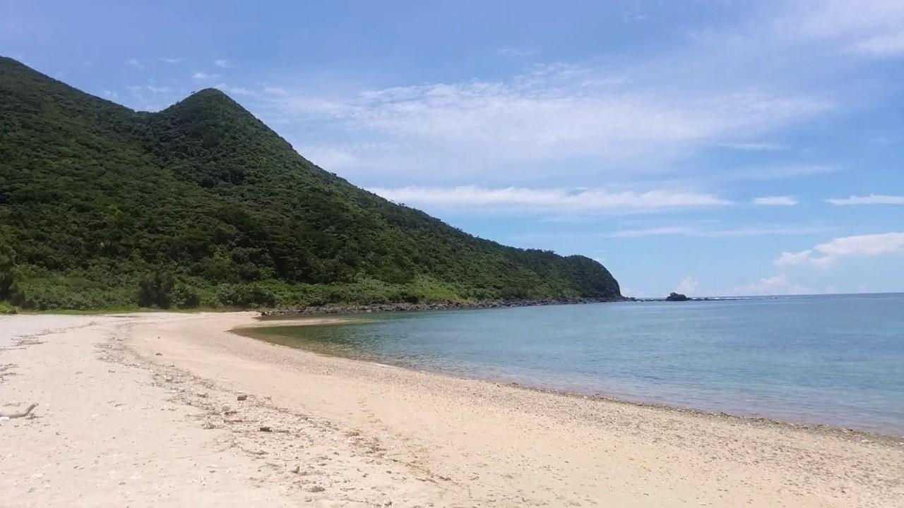 久米島 アーラ浜 - YouTube