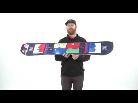 2017 GNU Asym Forest Bailey Head Space Snowboard Review - The-House.com