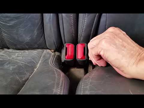 Olds (GM)  Bravada 1998  rear seat stuck and how to fix it.  (Easy)