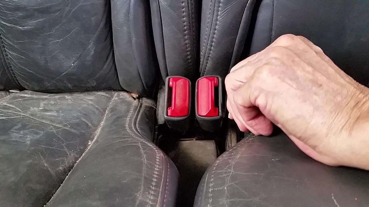 Olds GM Bravada 1998 Rear Seat Stuck And How To Fix It Easy