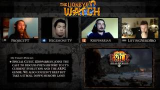 Path of Exile The Lioneye's Watch Podcast #14 - Feat. Kripparrian!  A Trip Down Memory Lane!