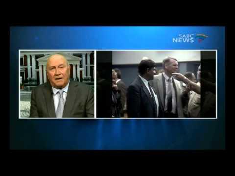 Question Time: FW de Klerk, 11 December 2014