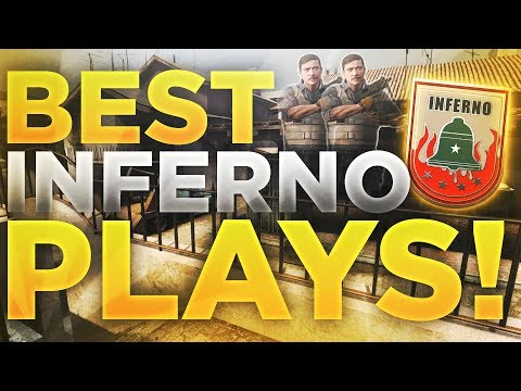 CS:GO - TOP PRO PLAYS ON INFERNO! (FLICK SHOTS, CLUTCHES &MORE!)