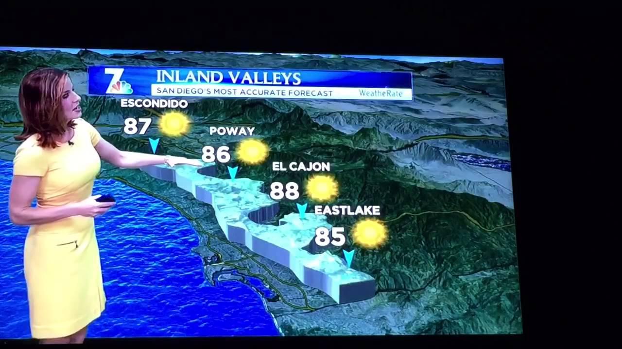 San Diego Weather Report NBC Pm News YouTube - Live doppler radar san diego