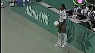 Cuba Brasil 5to set Semifinal Atlanta 1996