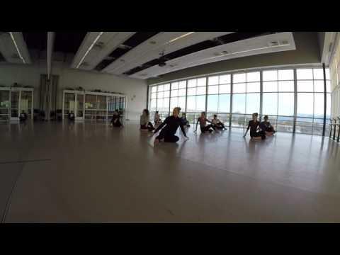 Contemporary Dance Technique Warm Up