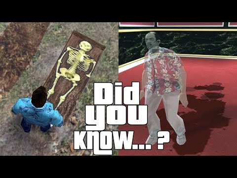 GTA Vice City Easter Eggs and Secrets 2