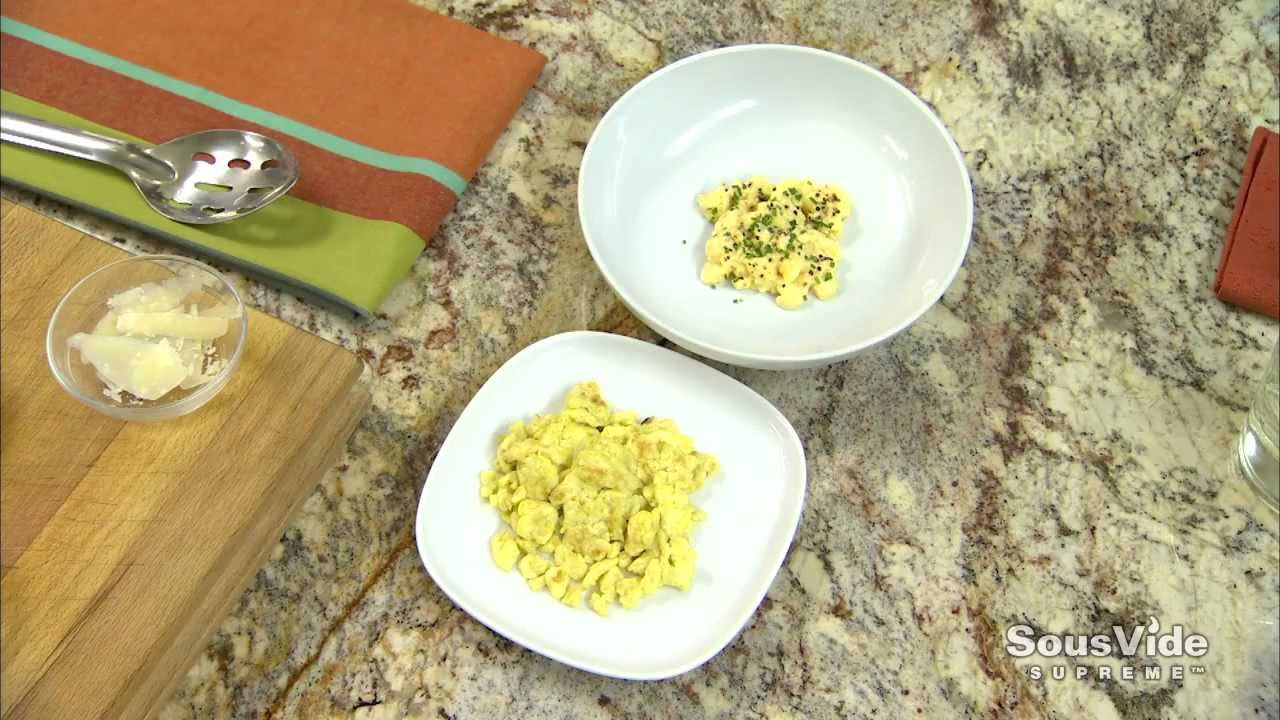 Why Sous Vide Eggs? - YouTube
