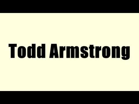 Todd Armstrong