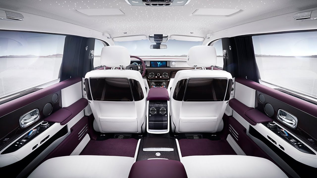 2018 rolls royce phantom interior
