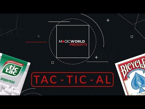 TACTICAL by Magicworld Trick - TAC-TIC-AL -  Magicland.se