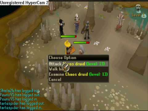 osrs how to get to chaos druids