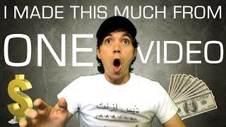 How Much Money Do YouTubers Make? [Sharing My Analytics]
