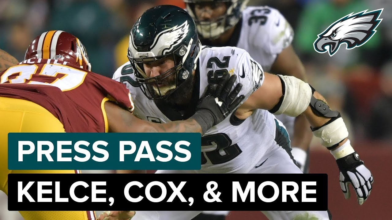 new concept fa57d c8838 Jason Kelce 'We Can Compete With Anybody' | Eagles Press Pass Compilation