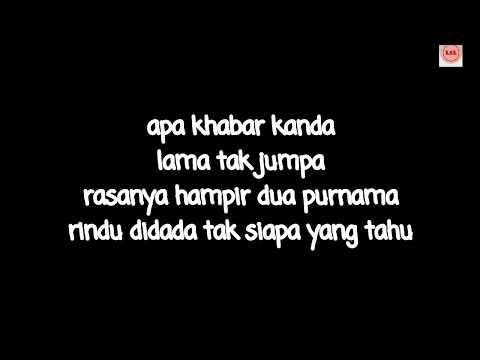 Dinda (Versi Kanda) - Masdo (cover Shahida Supian) (LIRIK VIDEO)