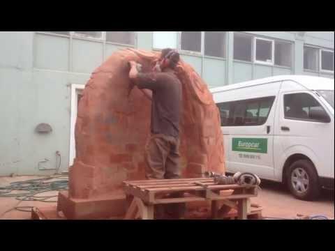 Brick sculpture