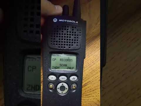 Motorola xts2500 scanning the richland county sc trunked radio system (digital)