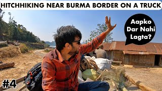 HITCHHIKING ON BORDER OF BURMA IN WILD MANIPUR II Manipur Travels II