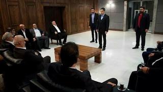 مراد علمدار يهدد شخصيات تركيا مشهد رائع من وادي الذئاب الجزء 10 الحلقة 10