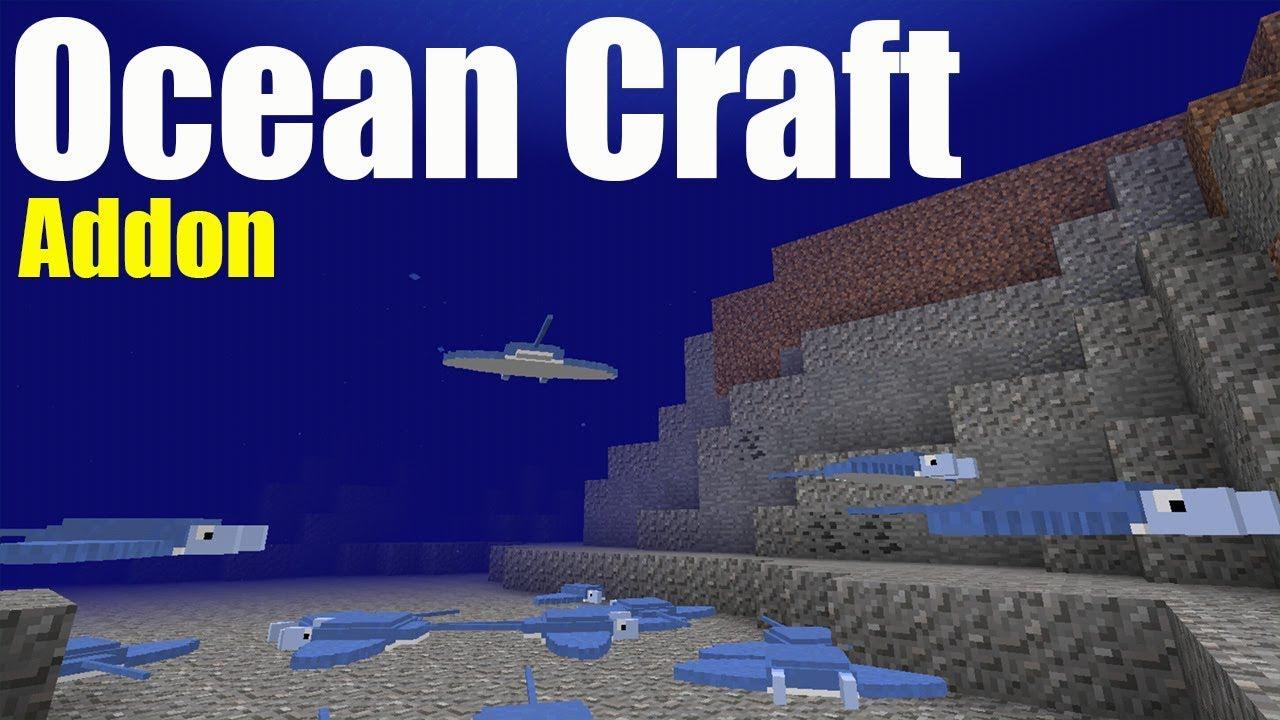 Ocean Craft Addon | Minecraft PE Gameplay Walkthrough ...