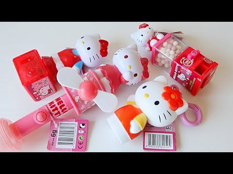 Hello Kitty Candy Container   Candy Vending Machine   Fan   Money Safe