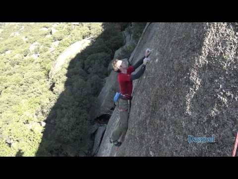 James McHaffie 8a+ Granite Slab Onsight