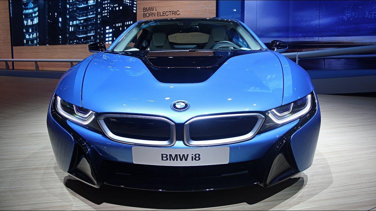 The 2014 BMW i8 Looks and Driving Scenes! - IAA Frankfurt 2013 (1080p Full HD)