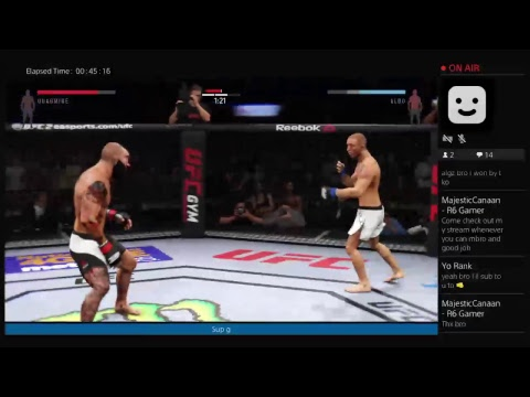 UFC 2 Online Live Gaming PS4 Broadcast