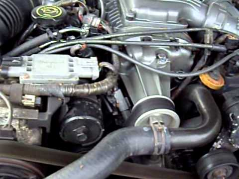 4 0 Liter Ford Engine Diagram 1991 Ford Thunderbird Sc 3 8 Supercharged Wine Youtube