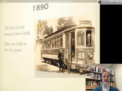 Portland Transportation History