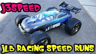 JLB RACING J3SPEED - Speed Runs On 3s & 4s