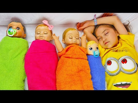 Fun Pretend Play with Dolls, Are you sleeping brother John