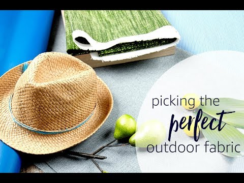 Picking The Perfect Outdoor Fabric