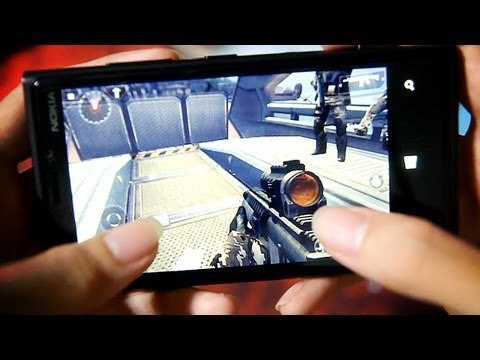 Nokia LUMIA 920 Gaming Review HD: Modern Combat 4, Asphalt 7 Heat, Temple Run