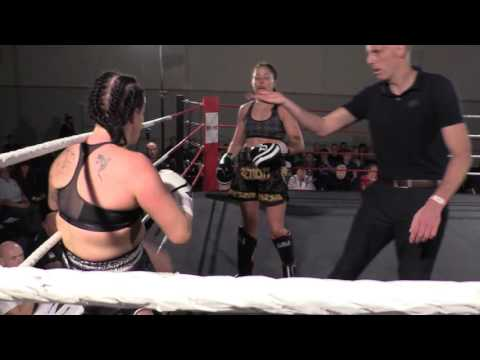 Anne Marie vs Maria Rowe - Lionheart Fight Night 1